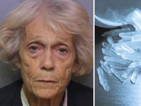 Sick woman, 73, 'took crystal meth to get better after mistaking it for prescription drug'