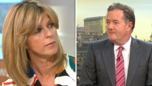 Piers Morgan 'wants to see Kate Garraway in jungle shower' as she denies I'm a Celeb offer