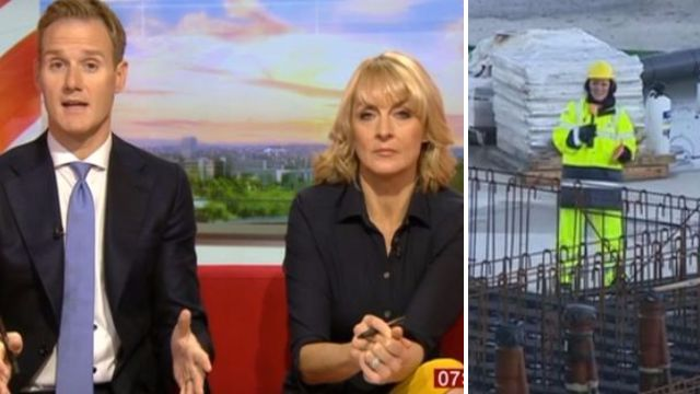 BBC Breakfast's Dan Walker forced to step in as technical difficulties disrupt show