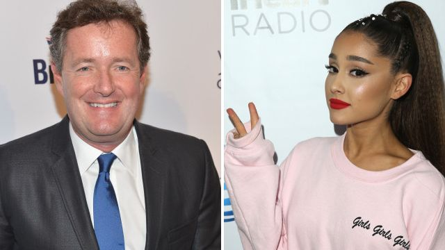 Ariana Grande rips into Piers Morgan as she backs Little Mix in heated feud and there is so much shade