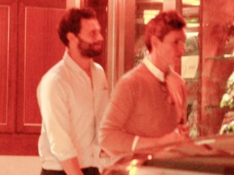Eddie Redmayne and Jamie Dornan enjoy lads night out in Los Angeles