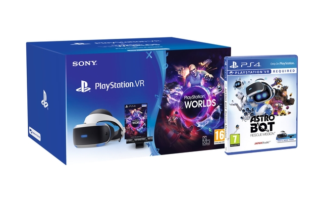 PlayStation VR with Astro Bot and Doom VFR is currently £180 at Amazon