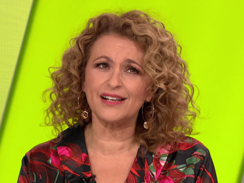 Nadia Sawalha is growing out her moustache especially for Movember