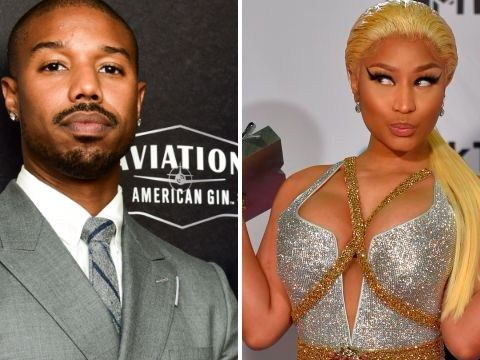 Nicki Minaj hits on Michael B Jordan as she accepts People's Choice Award and fans definitely approve