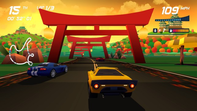 Horizon Chase Turbo (NS) - racing '90s style