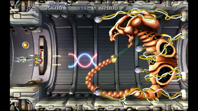 R-Type Dimensions EX (NS) - fighting Dobkeratops never gets old