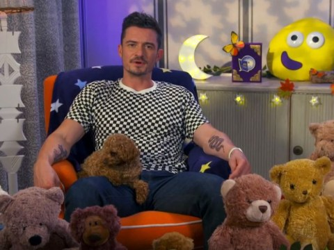 Orlando Bloom reading CBeebies' Bedtime Stories is treat for mums everywhere