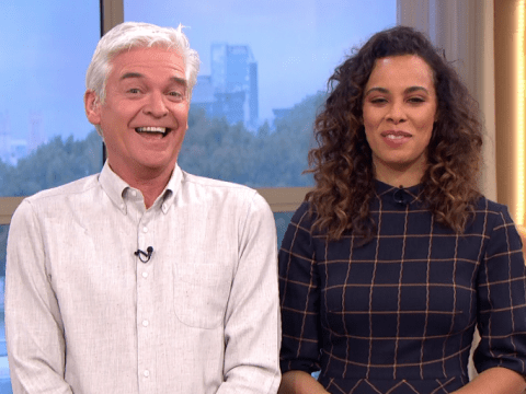Holly Willoughby rinsed by Phillip Schofield over a spider ahead of I'm A Celebrity launch