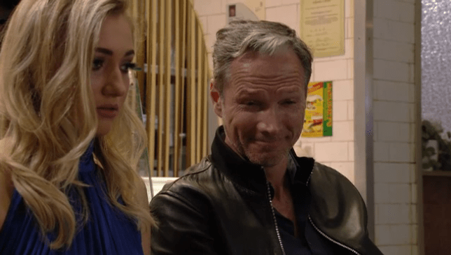 What is Ray planning with Louise in EastEnders