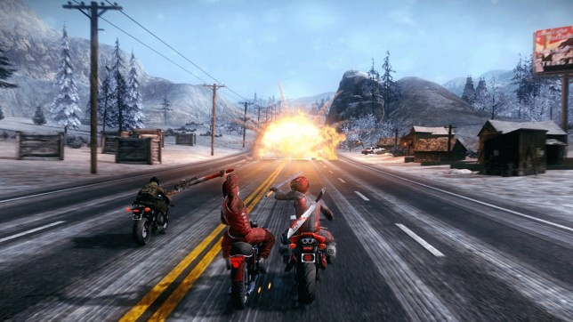 Road Redemption (PS4) - a not so mega drive