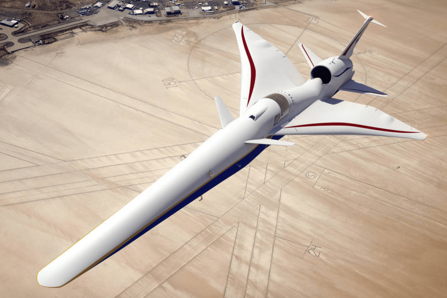 Nasa 'Concorde II' supersonic jet will take to the skies in 2021