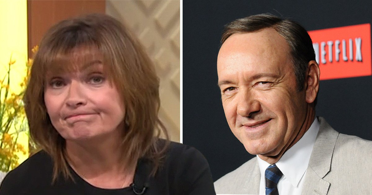 Lorraine Kelly's pop at Kevin Spacey is legendary as she recalls 'unpleasant' encounter with axed House of Cards star
