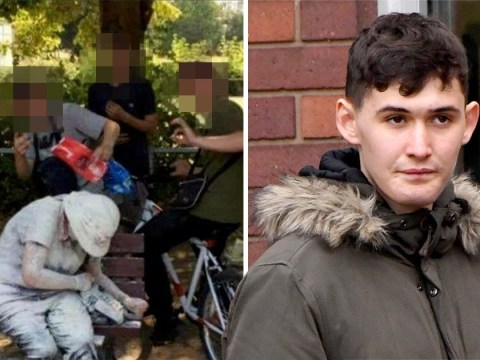 Teenager who threw flour and eggs at disabled woman and then boasted of attack is pictured for the first time