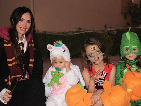 Megan Fox celebrates Halloween with adorable rare snap of all three sons