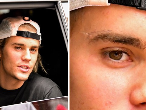 Justin Bieber gets his face tattooed as he gets matching inking with wife Hailey Baldwin