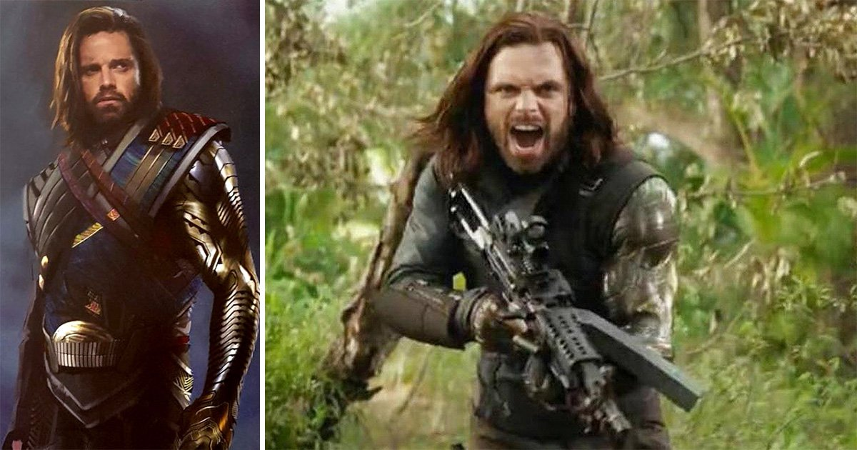 Bucky Barnes nearly looked very different in Avengers: Infinity War