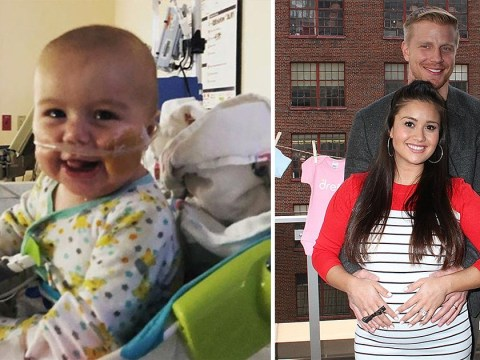 Sean Lowe and Catherine Giudici's baby rushed to hospital