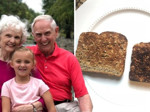 Granddad says the secret to his 50-year marriage is giving his wife the better piece of toast