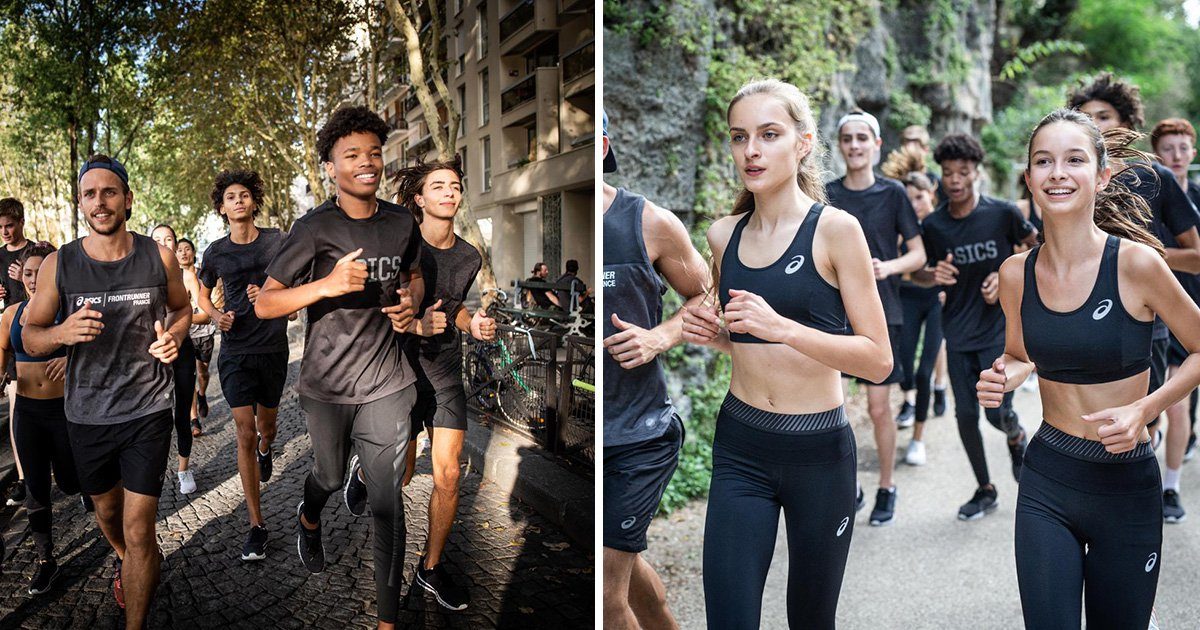 Asics using Elite models in their latest campaign is a monumental step back for women's sports