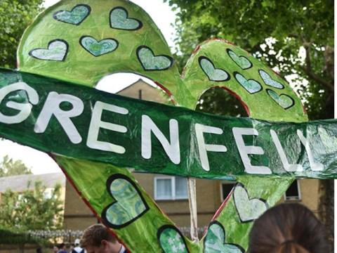 'Even racists deserve a trial' after Grenfell Tower effigy is burned on bonfire