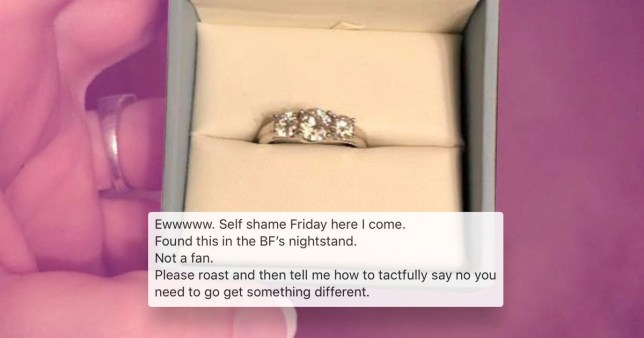 People are angry at this woman who found her engagement ring