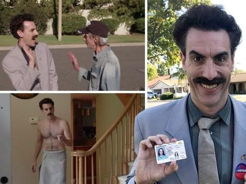 Borat makes glorious return to expose Trump voters