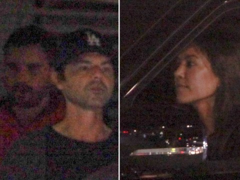 Kourtney Kardashian extends olive branch as she dines with ex Scott Disick and Sofia Richie