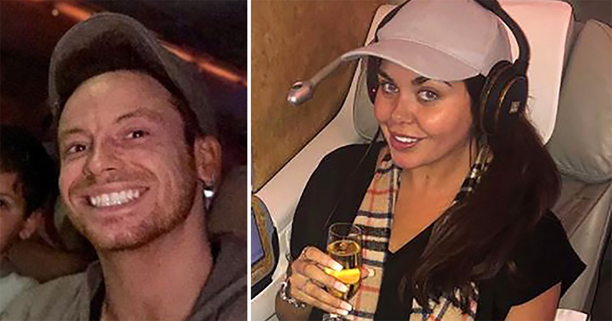 Joe Swash jets out to I'm A Celebrity in economy after Scarlett Moffatt flies business class