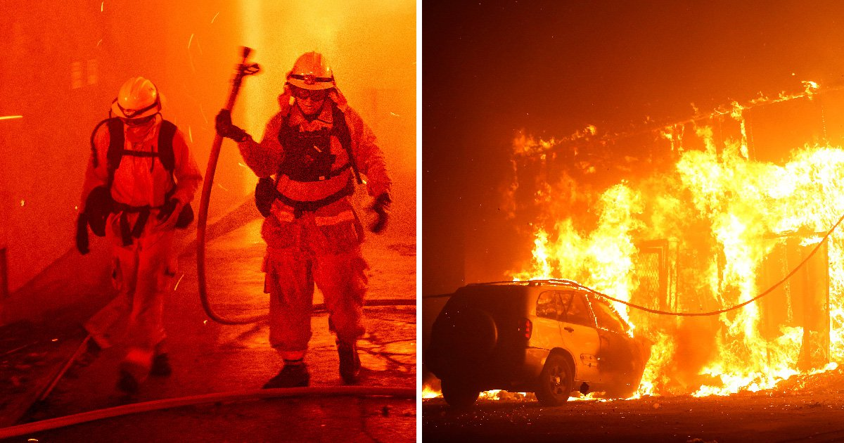 Deadly wildfires spread through California as thousands are ordered to leave their homes