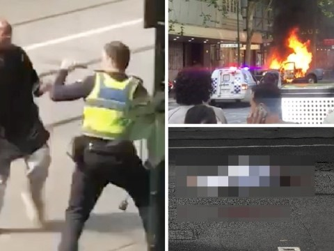 One dead in Melbourne terror attack as man goes on rampage with a knife