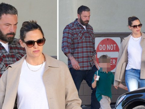 Ben Affleck and Jennifer Garner celebrate divorce being made official with family ice-cream trip