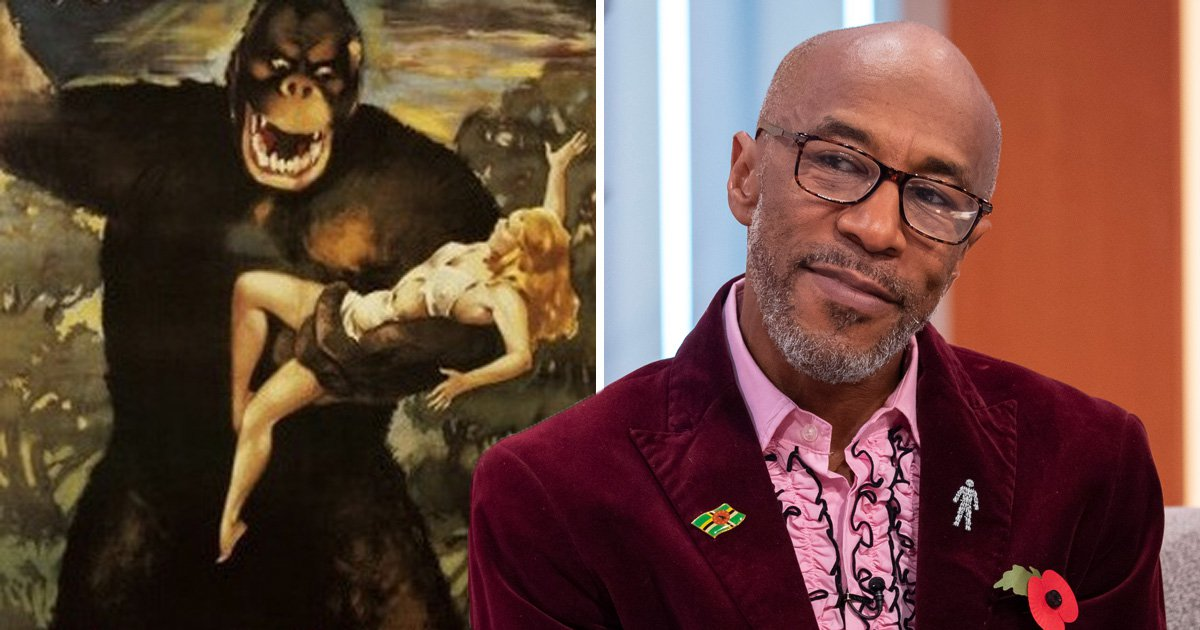 Strictly's Danny John-Jules responds to 'bullying' rumours with King Kong poster