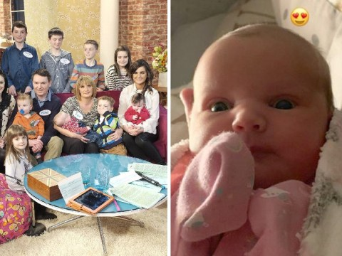 Britain's biggest family gets even larger as the Radfords welcome child number 21