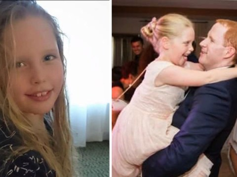 Dad's emotional tribute for girl, 10, who died six years after her mum and sister