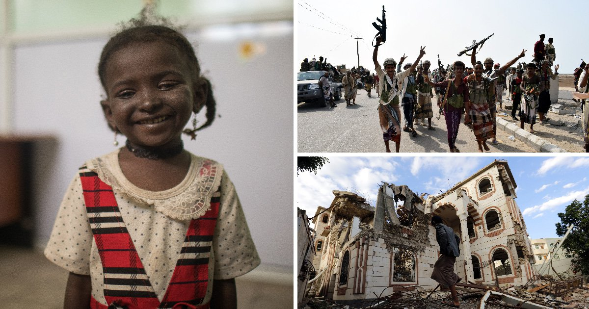 Children's lives are being 'destroyed' by the escalating war in Yemen