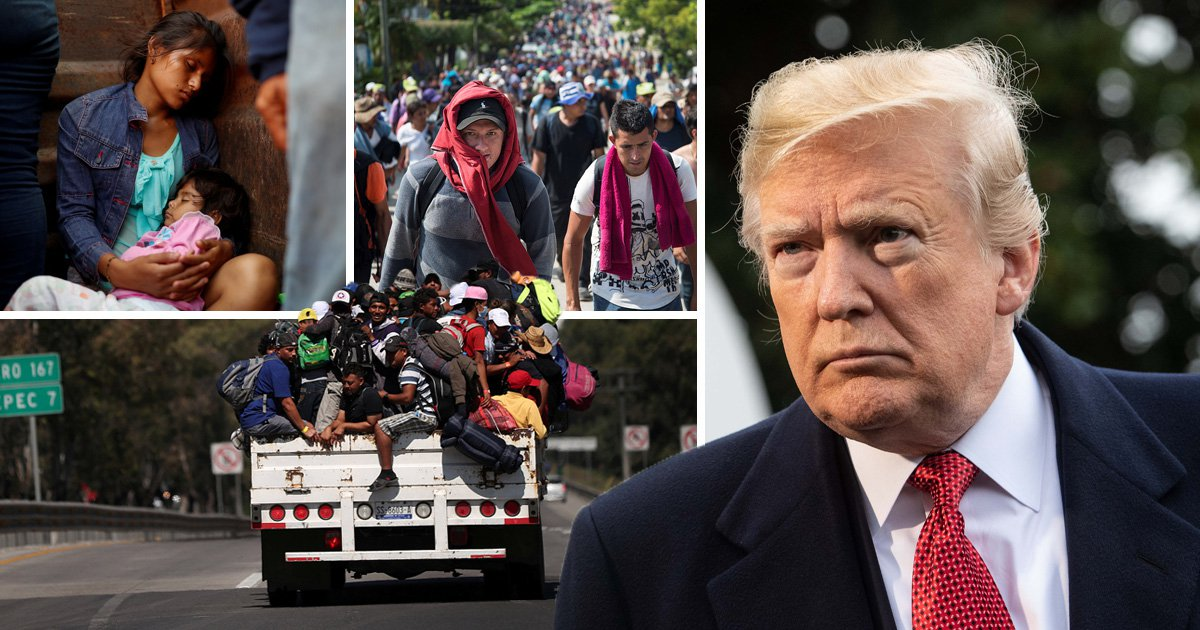 Trump blocks illegal migrants from seeking asylum in the US