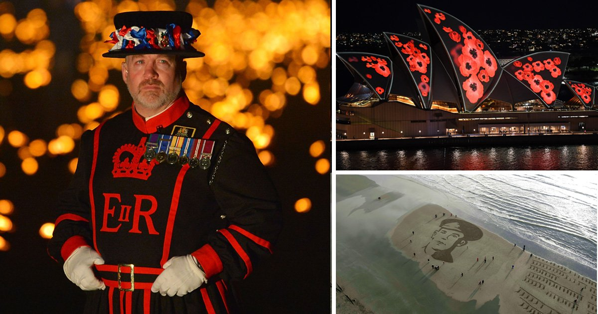 How the world paid tribute to fallen soldiers of the First World War