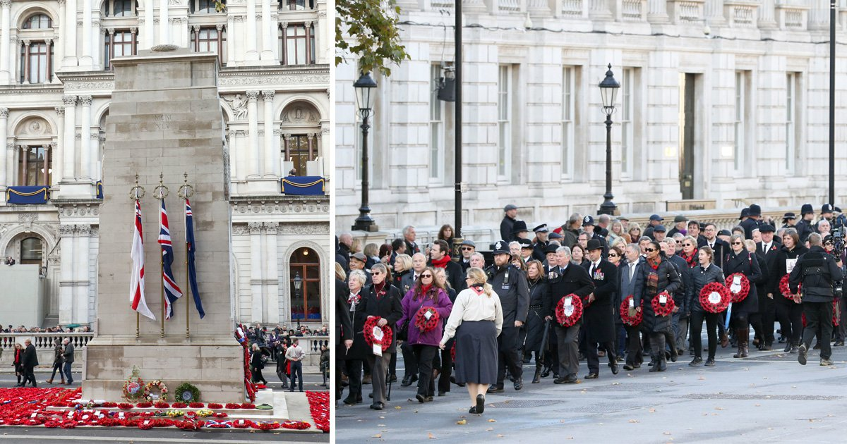 More than 10,000 march in London thanking those who gave their lives in First World War