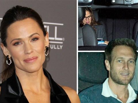 Jennifer Garner is all smiles as she steps out with new boyfriend John Miller