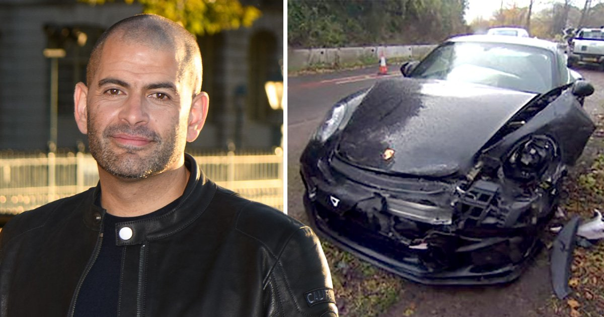 Top Gear presenter Chris Harris involved in car crash while working on upcoming series