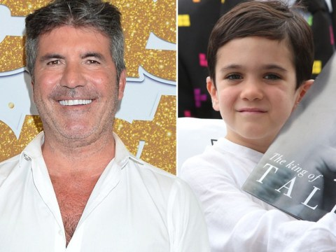 Simon Cowell admits he's 'out of his mind' as he lets four-year-old son Eric judge X Factor tonight