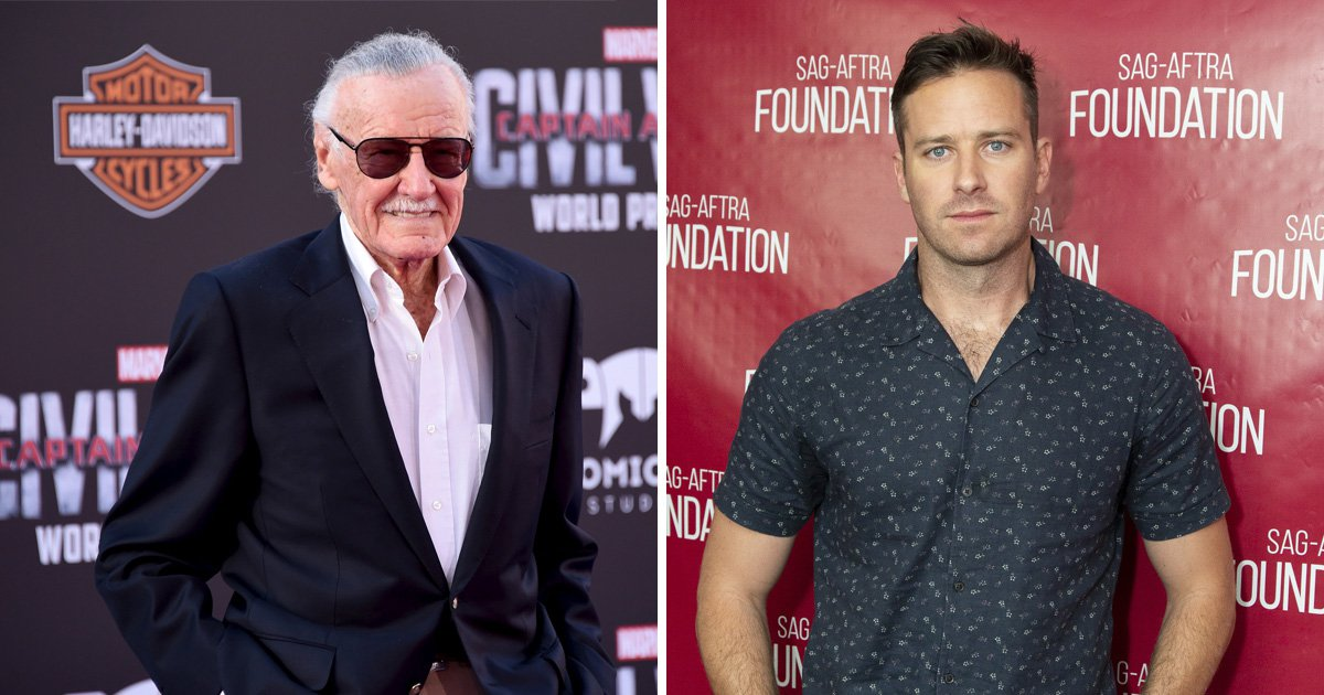 Armie Hammer still doesn't feel bad about his Stan Lee tweet