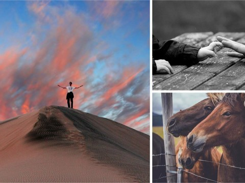These pictures have been named the most inspiring photographs of the year