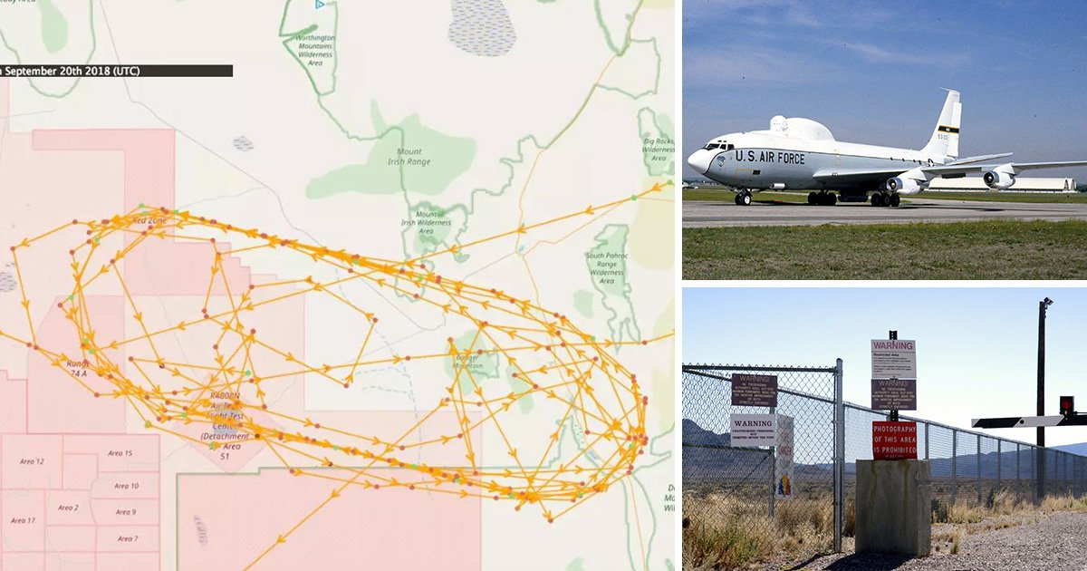 Mysterious aircraft are flying unexplained missions over Area 51