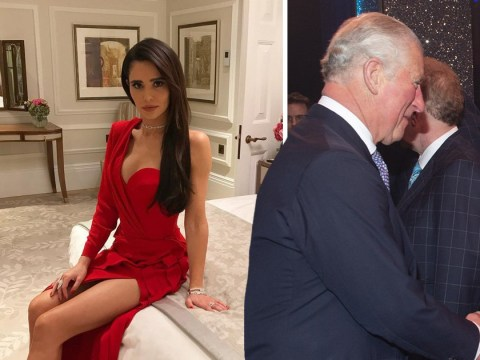 Cheryl shares sultry picture after partying with Prince Charles at his 70th birthday celebrations