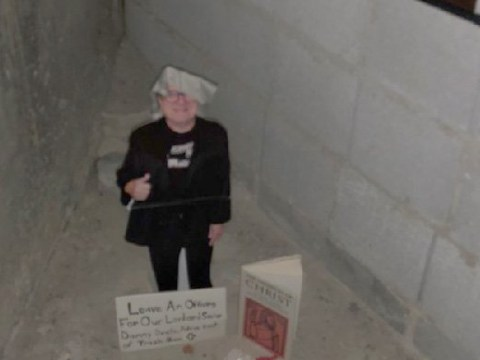 The tale of the mysterious Danny DeVito Shrine in a New York bathroom