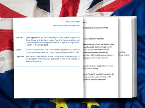 Read the full text of the Brexit deal and its key points