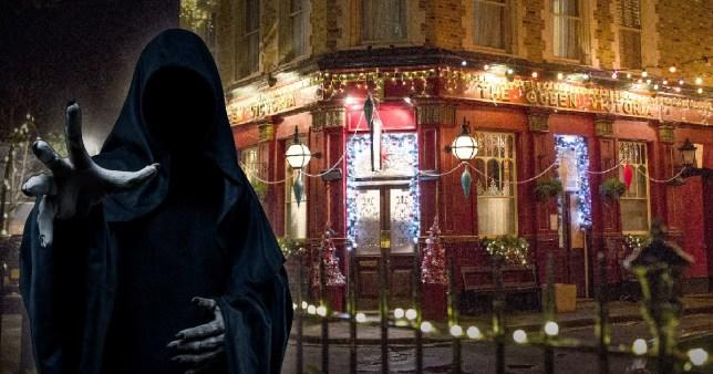 EastEnders Christmas death