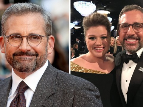Steve Carell finally met Kelly Clarkson 13 years after that 40-Year-Old Virgin scene