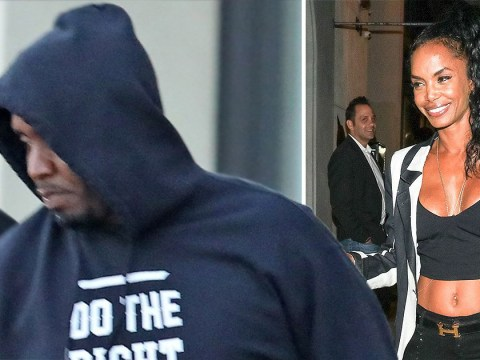 Diddy pictured heading back to work after 'devastating' death of ex Kim Porter